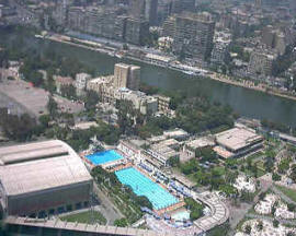 Al Gezira View from the Tower of Cairo - Egypt